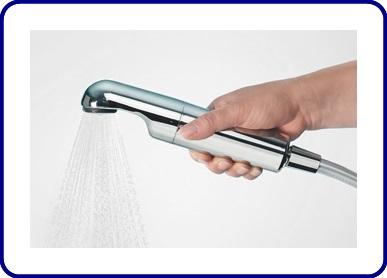 Duschfilter mit Legionellenrückhalt AS SHOWER chrome